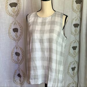 J.Jill Linen High Low, Tunic Women's Sz M